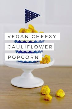 These vegan cheesy cauliflower popcorn is sure to turn any veggie-hater into a lover. The secret - nutritional yeast aka nutritional deliciousness. Cauliflower Popcorn, Cheesy Cauliflower, Vegan Cauliflower, Proper Nutrition, Nutrition Tips, Whole Food Recipes, Snack Recipes, Ketosis Diet, Grain Foods