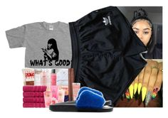 """"""""""" by braaceefaceeyaanlaa ❤ liked on Polyvore featuring adidas and Givenchy"""
