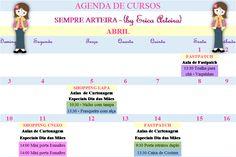 Agenda de aulas abril pag1