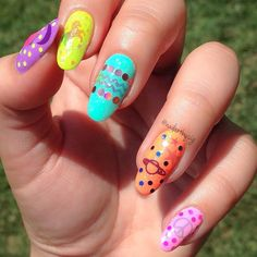 Summer Nail Art: Watermelons, Ombre, and Polka Dots | Beauty High