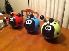 lady bug bowling balls
