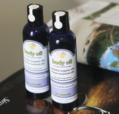 Can't live without:  Patchouli & Lavender body and massage oil 425 oz by thegreenbubble, $8.19