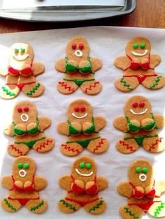 Naughty Gingerbread Women. Made these for my husbands job;)