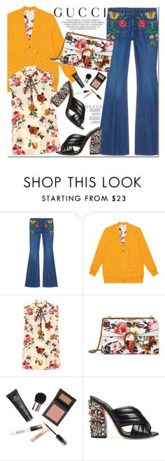 """""""Presenting the Gucci Garden Exclusive Collection: Contest Entry"""" by oshint ❤ liked on Polyvore featuring Gucci, Borghese and gucci"""