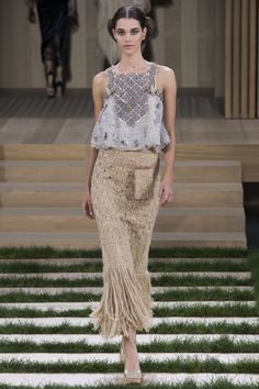 Chanel Spring 2016 Couture Fashion Show - Pauline Hoarau (Elite)
