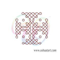 Indian Rangoli Designs, Rangoli Designs Flower, Small Rangoli Design, Rangoli Border Designs, Rangoli Ideas, Rangoli Designs With Dots, Rangoli Designs Images, Rangoli With Dots, Beautiful Rangoli Designs