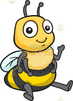 A Friendly And Welcoming Bee | Smile, Products and Cute bee