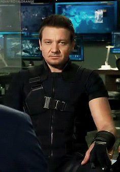 This look just sums up Clint Barton's life with the Avengers