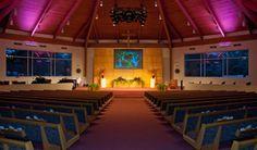 Main Sanctuary at Unity Church of the Hills, Austin TX
