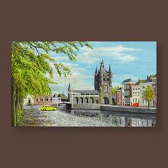 Artist Bert Riepma, size: original oil painting on canvas Oil Painting On Canvas, Artist Painting, Most Famous Paintings, Winter Landscape, Still Life, Animal Pictures, Restoration, Bb, Fine Art