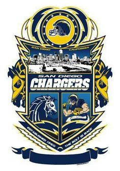 San diego chargers! Bolt up!