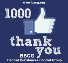 Congratulation BSCG Certified Drug Free Supplement Facebook Page like Completed 1000 Facebook like  :