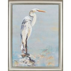 "Paragon Herons by Georgie Waterfront Art - 45"" x 35"" - 7975"