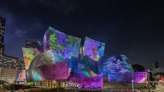 Fachada Colonial, Walt Disney Concert Hall, Creative Hub, Opera House, Building, Frank Gehry, Painting, Travel, Facades