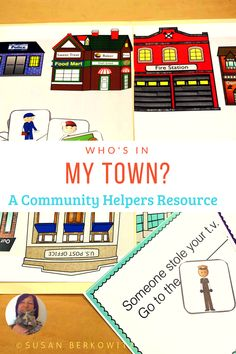 Teach Community Helpers with this interactive resource containing 8 interactive books, board game, and more language activities. Talk about labels, associations, actions. Teaching Special Education, Early Education, Student Teaching, Teaching Resources, Teaching Ideas, Communication Development, Interactive Books, Community Helpers, Language Activities