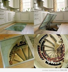wine cellar in kitchen - Google Search & Image result for wine cellar in kitchen | Adding cellar to kitchen ...