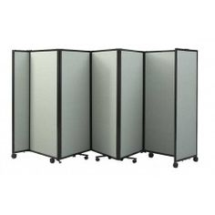 Room Divider 360 - Portable Accordion Partition Wall