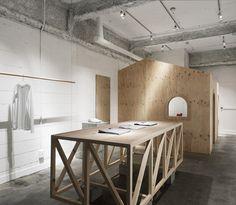 Not Wonder Store with a house inside by Reiichi Ikeda - Dezeen