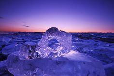 Nicknamed 'jewelry ice,' a rare kind of winter river ice on the northern island of Hokkaido has captivated locals and attracted photographers.