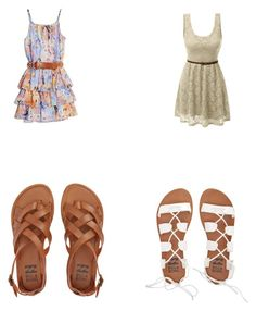 """Untitled #25"" by magdalenelib on Polyvore featuring Billabong, GUESS by Marciano and LE3NO"