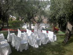 Celebra tu ceremonia civil en los jardines del #Parador de #Guadalupe #Bodas360º #Bodas