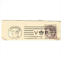 QV 1d Lilac DieII on cut-out w V Crown R 5 LONDON 1899 Apl 25 postmark