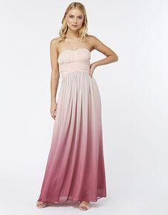dbf9fbe1dba2f Channel Grecian elegance with our Aubrey maxi dress. Romantically draped  around its strapless bodice
