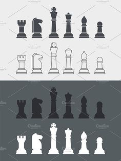 Chess icons. Sport Icons. $4.00