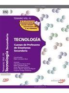 CUERPO DE PROFESORES DE ENSEÑANZA SECUNDARIA. TECNOLOGIA