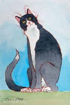 "Daily Paintworks - ""You Want…WHAT?"" - Original Fine Art for Sale - © Toni Goffe"