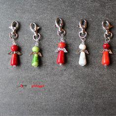 Herzschlüssel: Zum Valentinstag .... , Engel, Elfen, lampwork, glass beads, Glasperlen, #DIY