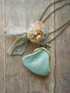 small purse necklace~nene, gotta do this!~sg