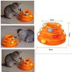 Творческий домашняя кошка игрушка роскошный кот котенок интерактивных домашних животных игрушка обучение развлечений пластина трехслойную сумасшедший мяч диск игровой деятельности игры купить на AliExpress