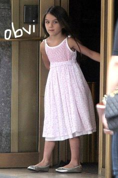 Suri Cruise FINALLY Gets Her Own Fashion Line At Age 7 http://perez.ly/14aYH24