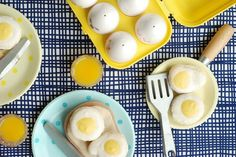 Fried egg macarons | Craft Storming