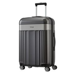 TITAN Spotlight Flash Trolley 67 cm 4 Rollen grau #titan #spotlight #koffer #travel #style #reisen