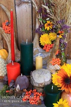Are You Burning Beeswax Candles this Fall?