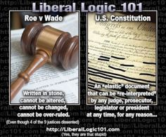 Liberal Logic 101: Laws of stone on a foundation of tissue…