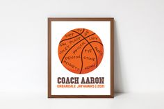 Custom Basketball, Basketball Teams, Printable Quotes, Printable Wall Art, Team Word, Coach Appreciation Gifts, Choose Quotes, Home Decor Signs, Busy Life