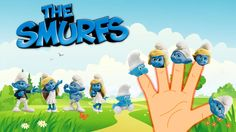 Finger Family Song of SMURFS || Finger Family Nursery Rhymes for Kids