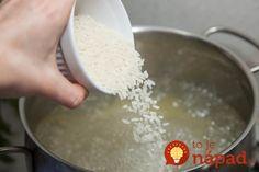 Do vody, v ktorej varíte ryžu dajte aj 1 lyžicu octu – ryža ostane biela a sypká. Štipka soli pridaná pred koncom varenia dodá nápoju jedinečnú arómu a chuť. Keď namáčame fazuľu, namáčame vždy do minerálky – fazuľa sa uvarí omnoho skôr. Ak pridáte trochu mlieka do kyslej smotany, v omáčke sa nezrazí. 2 kocky... Salt, Cheese, Food, Essen, Salts, Meals, Yemek, Eten