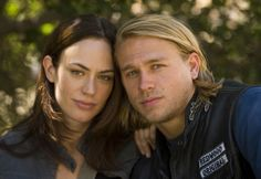 """""""We don't know who we are until we're connected to someone else. We're just better human beings when with the person we're supposed to be with."""" - Tara, Sons of Anarchy"""