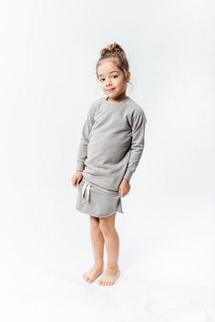 Long fit Sweater Nola Grey Sprinkles