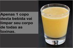 Apenas 1 copo desta bebida vai limpar seu corpo de todas as toxinas | Cura pela Natureza.com.br
