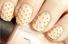 gold silver nail caviar beads / nail art mini beads / mini beads for nails / steel ball for nail art