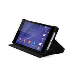 Sony Style Cover Stand Case for Xperia Z2 - Black