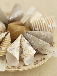 Paper fortune cookies - Make paper fortune cookies - Craft - allaboutyou.com