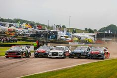 Lydden Hill Race Circuit, FIA World RX, 2016, 2015, race day video 2016 2016