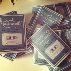Sono pronte le dispense dei Racconti da Musicassetta, progetto della mia amata Associazione Bastian Contrari <3