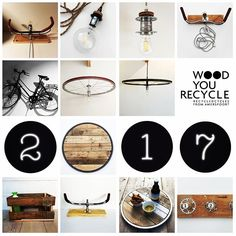 Happy new year! #2017 #recycle #cycling #newyear #amersfoort #design #sloophout  Check: www.woodyourecycle.nl